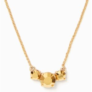 ♠️Kate Spade Forever Gems Gold Pendant♠️